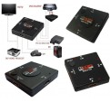 Multipuerto HDMI Switch 3 puertos 1080P Splitter para HDTV PS3 PS4 PC AUTOMATICO