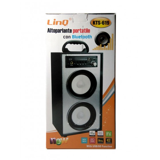 Altavoz Altavoces Bluetooth Speaker Box Sistema estéreo USB MP3 Radio FM SD