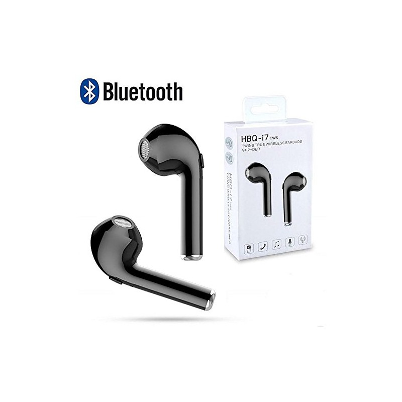 cd33d29b5c3 Auriculares Fan inalambricos con bluetooth 4.2 universales para iPhone  5/6/7/8. Loading zoom