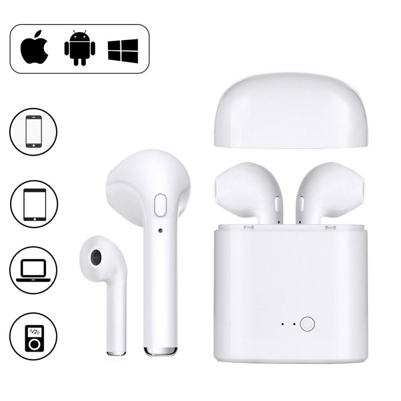 AURICULARES BLUETOOTH SIN CABLE i7S TWS