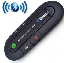 KIT MANOS LIBRES BLUETOOTH V4.1 PARA COCHE UNIVERSAL SAMSUNG IPHONE MP3 MUSICA