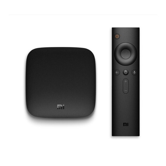 XIAOMI MI TV BOX, ANDROID TV 4K, COMPATIBLE CON VIDEO HDR, CON CONTROL REMOTO POR VOZ