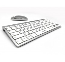 PACK TECLADO Y RATON INALAMBRICO PARA MAC PC WINDOWS WIRELESS 10m 2.4GHz CON Ñ
