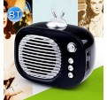 MINI ALTAVOZ BLUETOOTH ESTEREO VINTAGE REPRODUCTOR AUDIO FM TF ALTAVOCES RETRO
