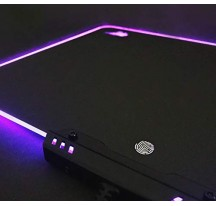 ALFOMBRILLA RATÓN DE LED COLORES SERIE GAMING MODELO HV-MP02 GAMEPAD GAMENOTE
