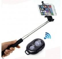 Disparador remoto y tripode para camara de telefonos moviles en color negro