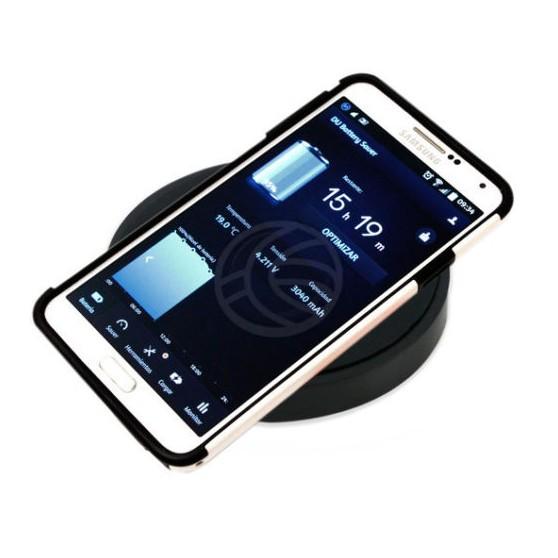 Cargador Wireless Inalambrico por inducción Qi para Smartphone Movil Base Carga