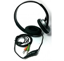 Auriculares Cascos estereo Wired con Microfono Gaming PC MP3 IPOD Jack 3.5mm