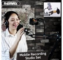 Remax Estudio de Grabacion Soporte Ajustable de Micrófono Filtro Pop 360º Movil