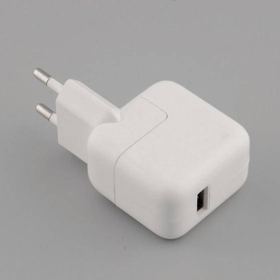 CARGADOR UNIVERSAL USB 10W PARA IPHONE IPAD ADAPTADOR DE CORRIENTE 2.1 A
