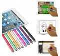 Puntero Fino Punta Redonda Stylus Pen Alta Sensibilidad Universal iPad iPhone