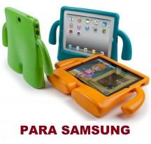 "FUNDA PARA TABLET SAMSUNG GALAXY 10"" - 10,1"" PARA NIÑOS GOMA iBuy iGuy TAB T580"