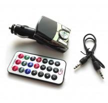 REPRODUCTOR TRANSMISOR FM PARA COCHE MECHERO ENCENDEDOR SD MMC 2 USB TF