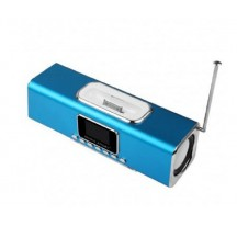 ALTAVOCES MUSIC ANGEL QOOPRO 12033 PANTALLA USB IPHONE RADIO FM MANDO