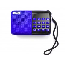 RADIO PORTATIL REPRODUCTOR DIGITAL MULTIMEDIA SISTEMA FM CON USB MICRO SD FM 3W