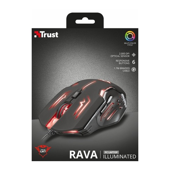 TRUST RATON GAMING GXT 108. RAVA