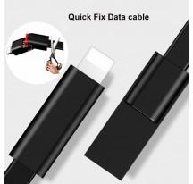 CABLE DE DATOS CARGA REPARACIÓN RÁPIDA Y RECICLAJE 1.5M ALEACIÓN DE ZINC USB A MICRO USB