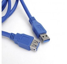 CABLE USB 3.0 MACHO A USB 3.0 HEMBRA 1,5 METROS