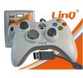 Mando Controlador Wirelles USB Gamepad Joypad Controller Para XBOX 360 LINQ
