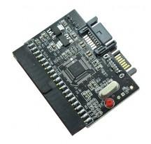 Adaptador de Disco Duro convertidor IDE a SATA o SATA a IDE bidireccional 100/133