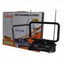 Antena DIGITAL DVB-T TV HDTV TDT PC PCTV 38dBi Amplificador portátil Receptor